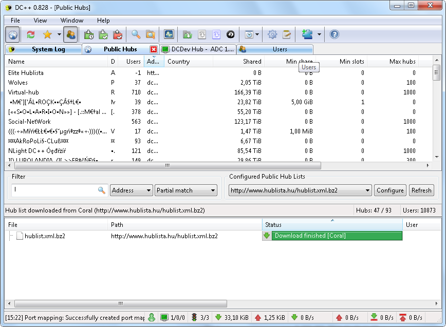 Windows 7 DC++ 0.868 full